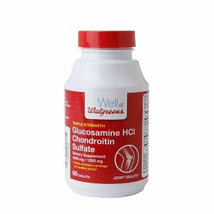 Walgreens glucosamine supplements