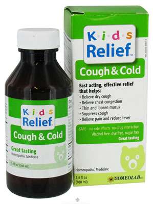 Homeolab USA Kids Relief Cough Cold