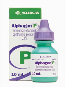 Alphagan eye drops