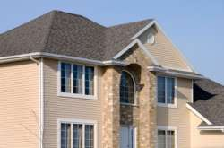 Asphalt Shingles on a House