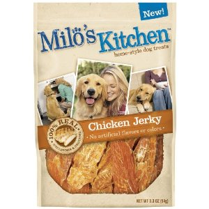 Milo's Kitchen chicken jerky treats