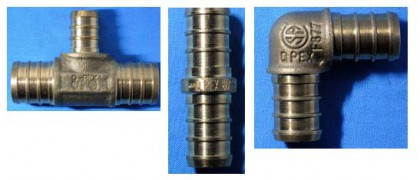 Zurn Qpex pipe fittings
