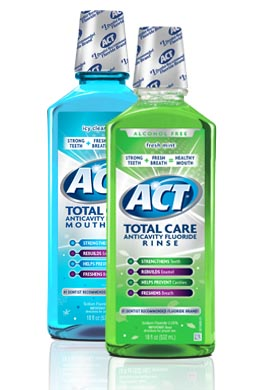 ACT Total Care mouthwash