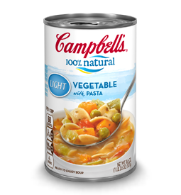 Campbell's 100% Natural Vegetable Soup