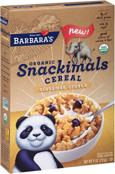 Snackimals cereal