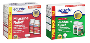 Equate migraine class action lawsuit